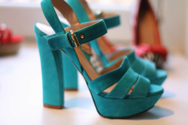 shoes heels high heels blue turquoise platform shoes chunky heels sandals strappy sandals turquoise heels
