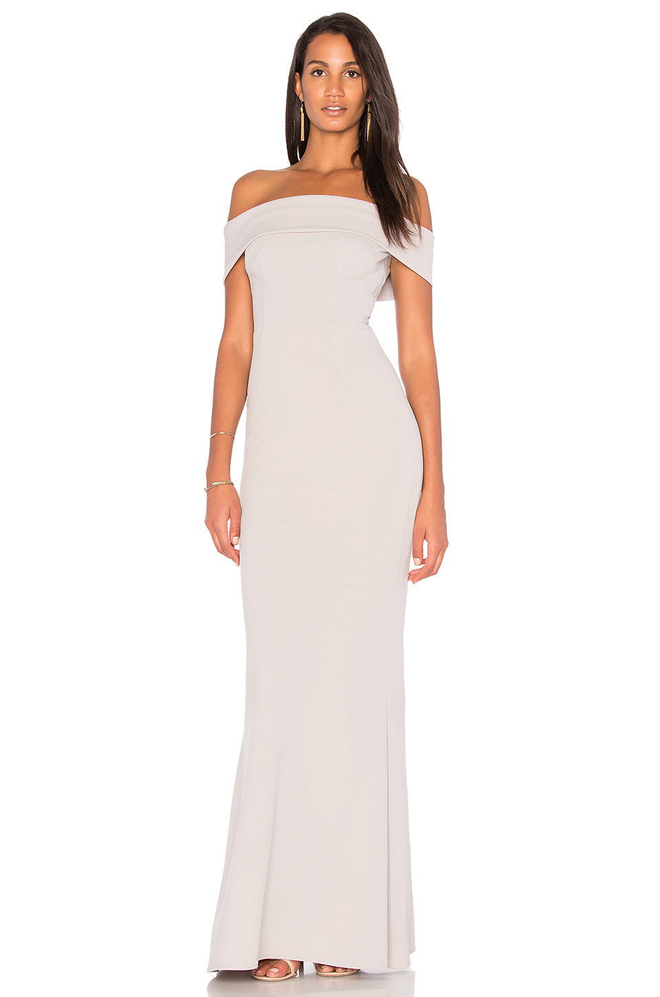 Katie May Legacy Gown in gray