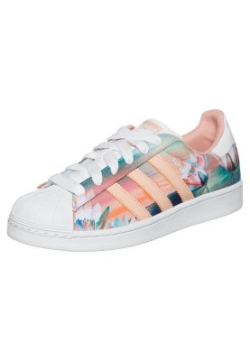 adidas Originals SUPERSTAR - Baskets basses - dust pink/white/dust - ZALANDO.FR