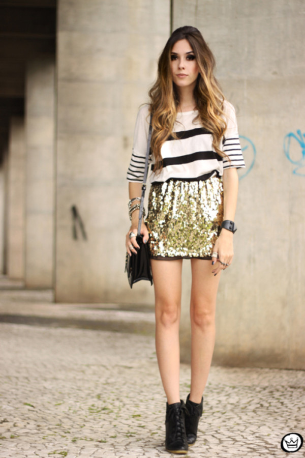 fashion coolture t-shirt skirt bag shoes