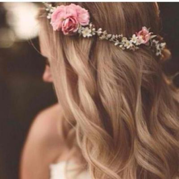 flower headband tumblr girl - photo #17