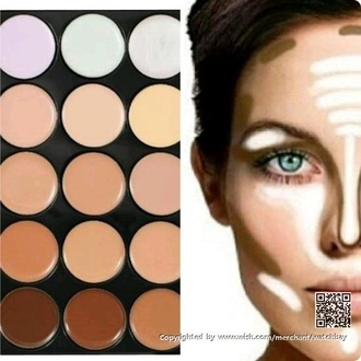 make-up makeup palette party make up eye makeup natural makeup look concealer camouflage female foundation beautiful colorful