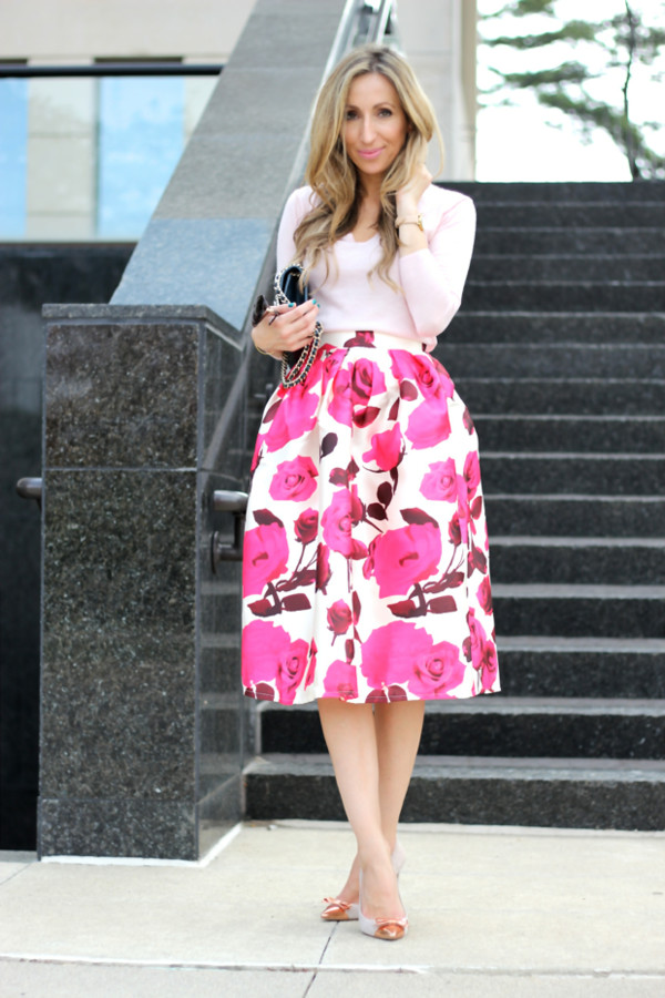 lilly's style blogger skirt shoes