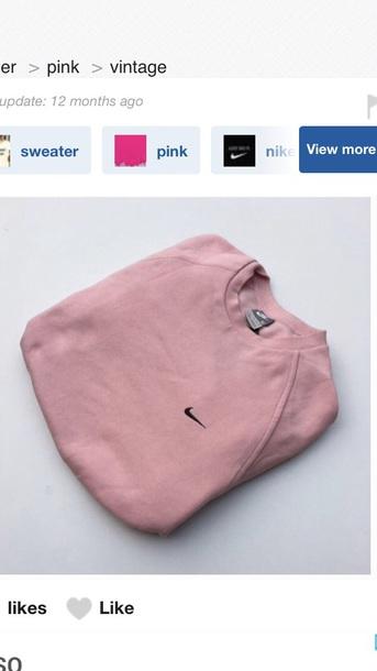 sweater nike pink