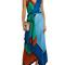 Asymmetric scarf dress - diane von furstenberg
