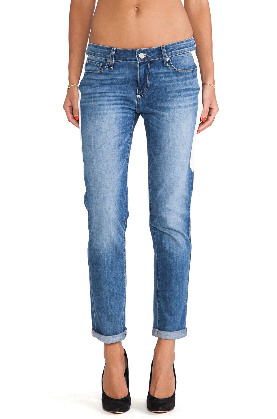 Paige Denim Jimmy Jimmy Skinny in Indigo Dart from REVOLVEclothing.com