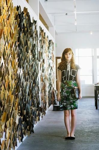 shoes skirt blogger esther fromthesticks top