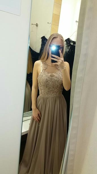dress prom dress hollywood dress nude dress