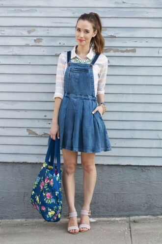 jumpsuit overall dress overalls denim denim dress