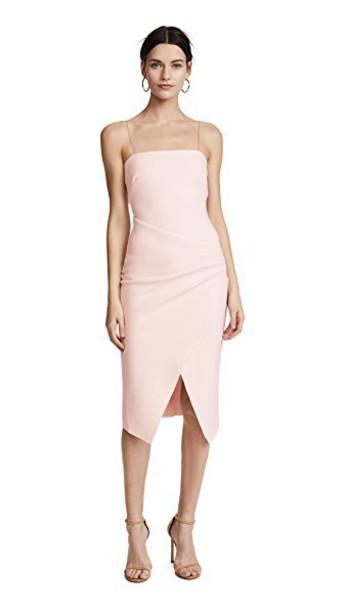 Bec & Bridge dress shell pink