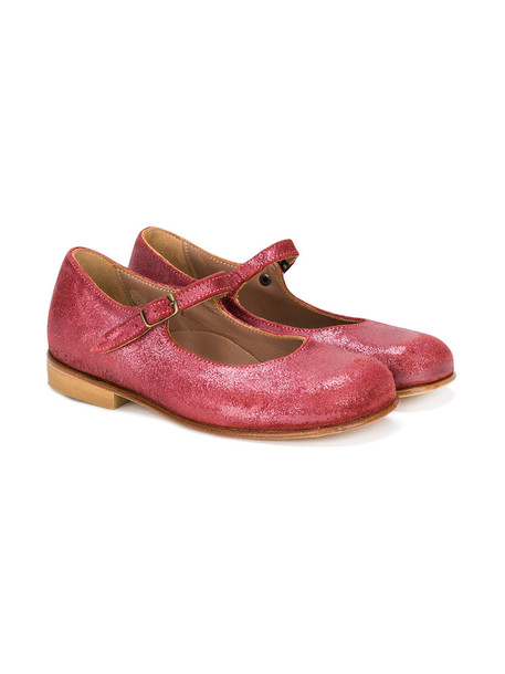 PePe leather suede purple pink shoes