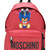 Moschino - branded teddy bear backpack - women - Polyurethane - One Size, Red, Polyurethane