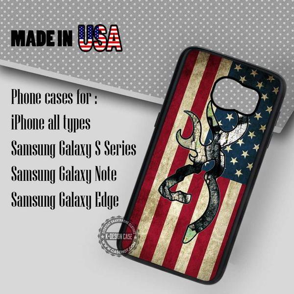 Samsung S7 Case - Browning Deer Flag- iPhone Case #SamsungS7Case #art #yn