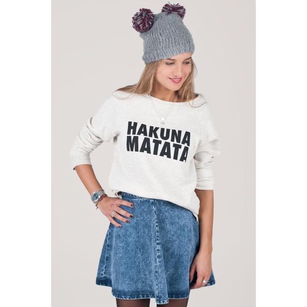 1735,Sweat Hakuna Matata,AUTOMNE - HIVER,SWEAT-SHIRTS,SUBDUED,T-SHIRT  DE'BARDEURS,Vetements pour femmes boutique en ligne Subdu