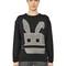 Electro bunny cotton sweatshirt