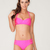 Buy Motel Lemon Drop 50s Style Halter Neck Bikini in Pink at Motel Rocks