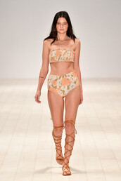 swimwear,high waisted bikini,runway,model,fashion week,sydney fashion week,bikini top,bikini bottoms,bandeau bikini,Tacoola