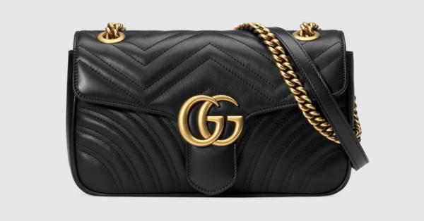 24961f8588d Gucci GG Marmont small matelassé shoulder bag