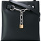 Alexander wang - 'attica' chain shoulder bag - women - leather - one size, black, leather