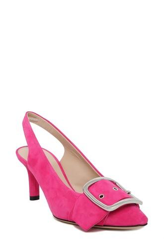 pumps suede shoes