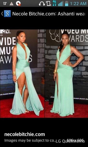 dress ashanti mint dress