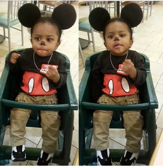 mickey mouse infant shirt