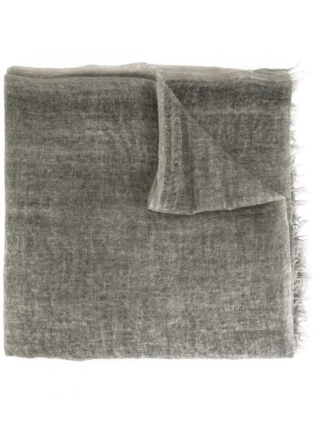women scarf grey