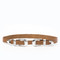 Stillwater the double buckle belt - natural