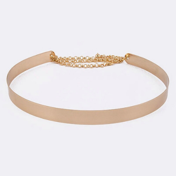 belt gold belt gold chain belt sylvi label