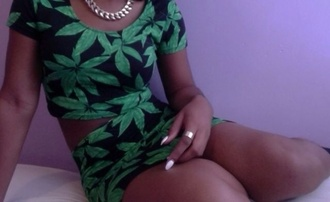 shirt marijuana crop tops shorts skirt