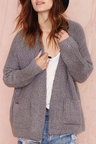cardigan pockets casual warm cozy fall outfits winter outfits long sleeves knitwear