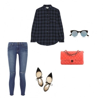 helena bordon blogger shirt jeans shoes bag sunglasses