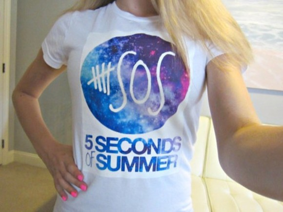 boy shirt tshirt 5sos 5seconds of summer galaxy band