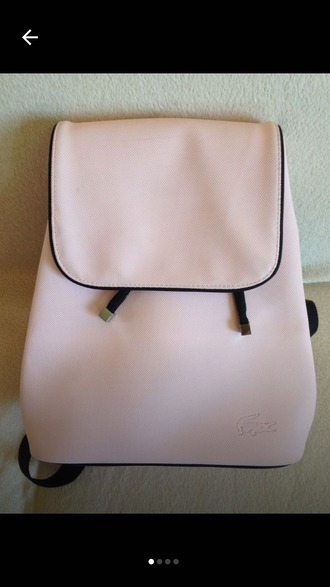 bag backpack blush pink
