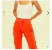 pants,orange