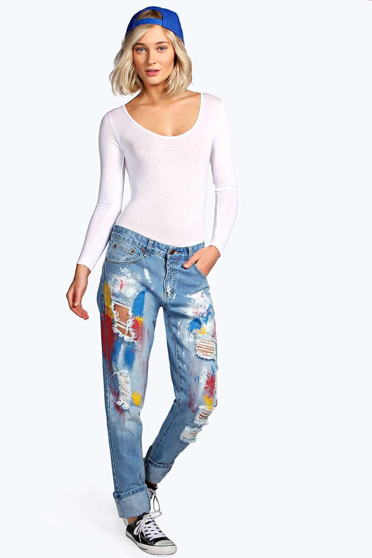 Relaxed Fit Art Class Boyfriend Jeans