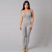 jumpsuit,romper,heather grey