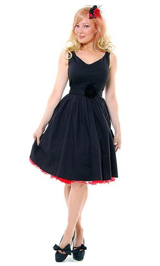 50s style clothes cute dress black dress rockabilly dress swing dress vintage retro