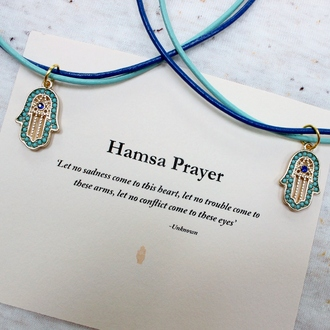 jewels necklace jewelry gift ideas hamsa stones semi-precious choker necklace turquoise girly lovely