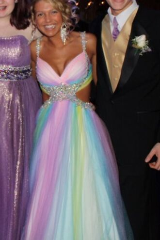 dress long prom dress prom dress pink prom dress prom ball gown wedding dress mac duggal prom dresses beautiful multi colored colorful dress