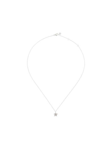 Astley Clarke mini women pendant silver grey metallic jewels