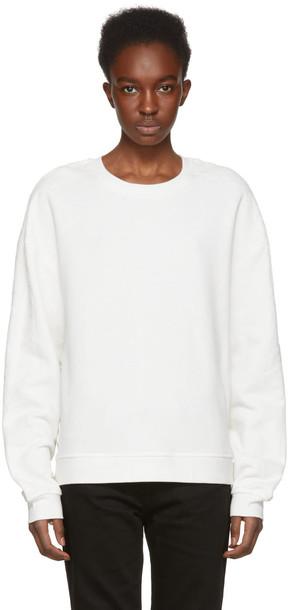 McQ Alexander McQueen sweatshirt lace sweater