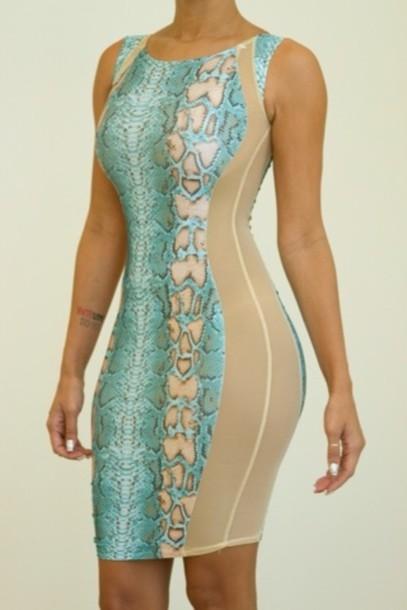 dress snake print dress snake print