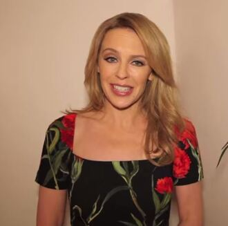 dress floral kylie minogue