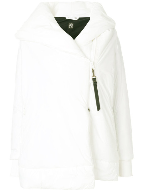 BACON jacket puffer jacket zip women white