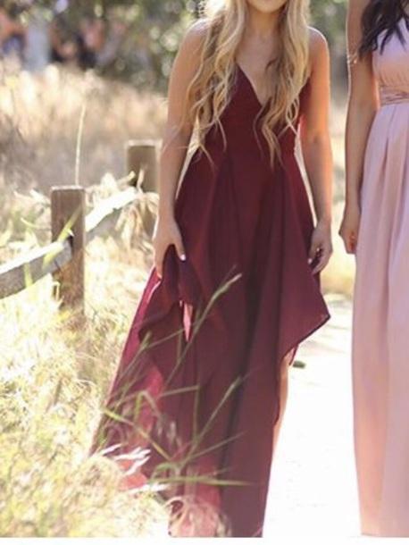 48f772f2ac4 dress prom dress long prom dress burgundy burgundy dress v cut instagram burgundy  dress flowy dress