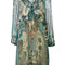 Roberto cavalli - potpourri printed dress - women - silk/polyester - 40, silk/polyester