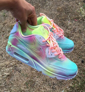 shoes colorful air max nike air max 90
