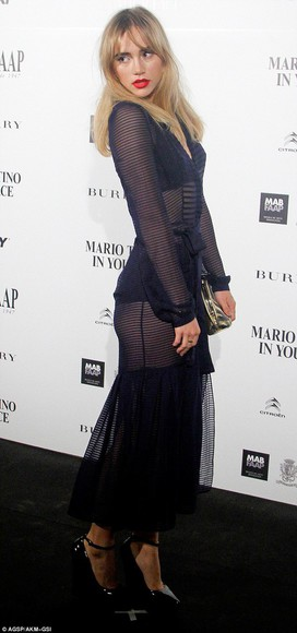 sheer dress suki waterhouse