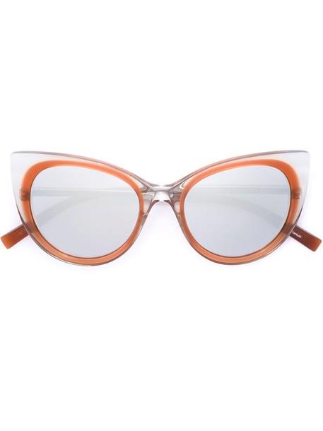 Jil Sander women sunglasses brown